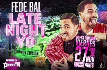 FEDE BAL - LATE NIGHT YO