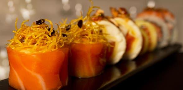 ¡Sobre porciones y combinados de sushi! - 2x1