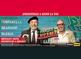 Parque lezama - 2x1
