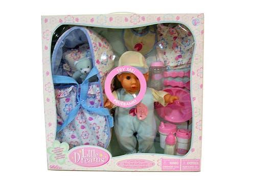 Bebote con accesorios ($149 en Walmart). Foto: lanacion.com