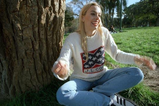 Cecilia Carrizo logró popularidad como conductora infantil cuando tenía 23 años. Foto: LA NACION