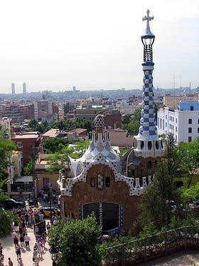 Parc Güell, parque ideado por Gaudí en Barcelona