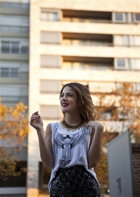Martina Stoessel confiesa su gusto por la ropa canchera