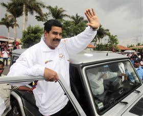 El presidente Nicolás Maduro, en Managua, donde estuvo de visita el fin de semana