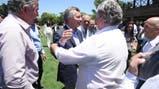 Mauricio Macri compartió hoy un almuerzo con intendentes de Cambiemos de la provincia de Buenos Aire