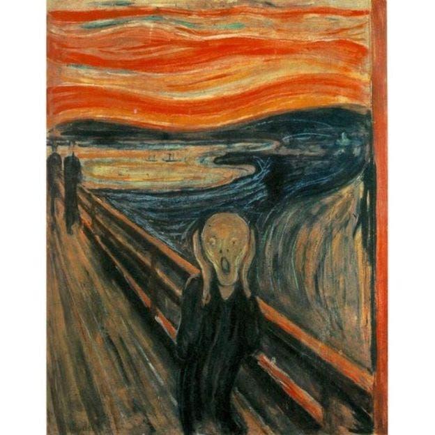 El cuadro fue pintado en 1892