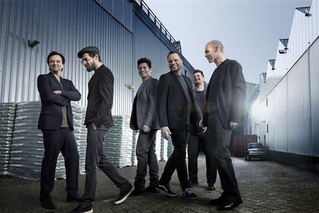 El grupo de Percusión de La Haya