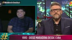 """Desde Cuba, Diego Maradona habló sobre Villafañe: """"Es una ladrona"""""""