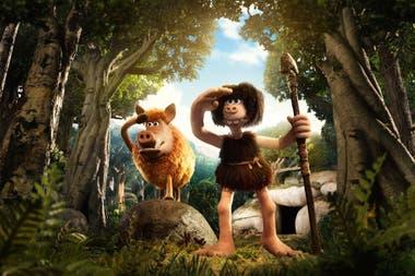 El cavernícola, animación con el sello de Nick Park