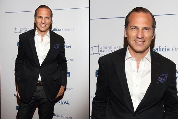 Javier Iturrioz también estuvo en la gala de Kings of the Dance - Opus Tres. Clásico, pero actual, eligió un saco negro, camisa y jeans. Foto: Gentileza Alurralde Jasper Asoc