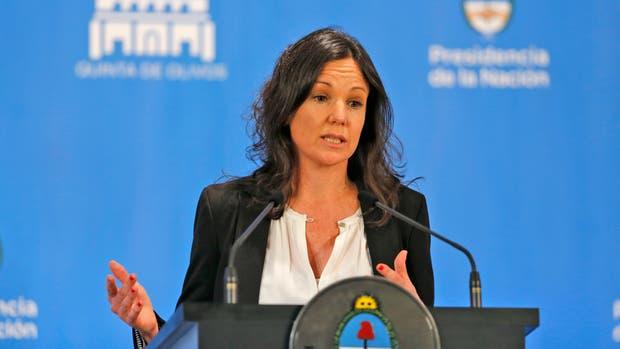 La ministra de Desarrollo Social Carolina Stanley