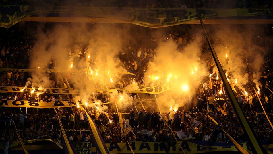 La gran fiesta Boquense. Foto: AP