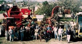 Productores de Ramona, Coronel Fraga y Marini, en el centro-oeste de Santa Fe, compraron en forma conjunta maquinaria de labranza pesada