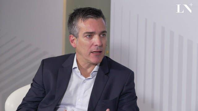 Federico Giannoni, director ejecutivo de Barrick Gold.
