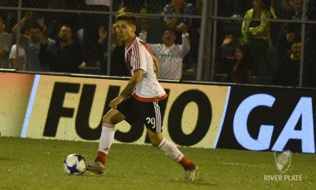 Montiel fue la figura de River ante San Martín de San Juan en la última fecha de la Superliga