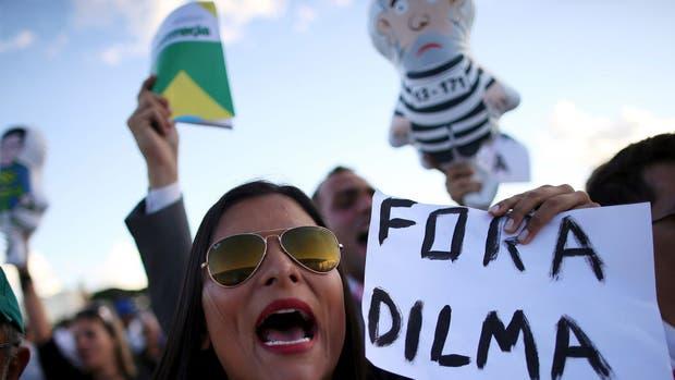 Ayer, miles de brasileños salieron a la calle tras el anuncio de la designación de Lula en el gobierno