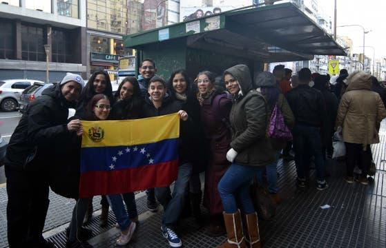 Los venezolanos en la Argentina.