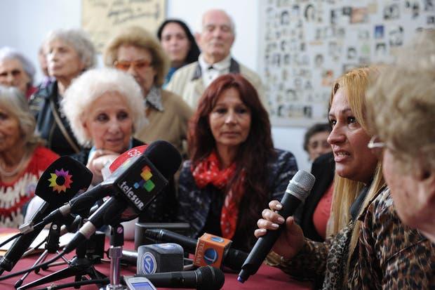 Abuelas de Plaza de Mayo anunciaron esta tarde la restitución de la nieta apropiada 107