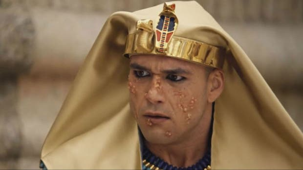 Moisés y la sexta plaga de Egipto