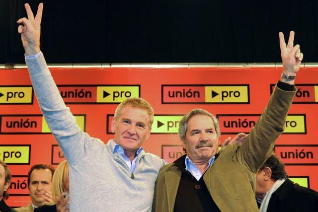 En agosto de 2009 Solá y De Narvaez se mostraban juntos en el primer encuentro provincial de Unión-Pro
