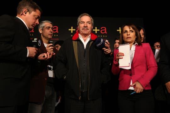 Felipe Solá, uno de los candidatos por el Frente Renovador. Foto: LA NACION / Ezequiel Muñoz
