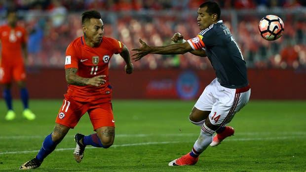 Chile v Paraguay - Estadio Monumental David Arellano, Santiago de Chile