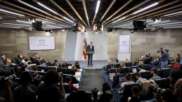 Respaldo de la UE y EE.UU. a Rajoy