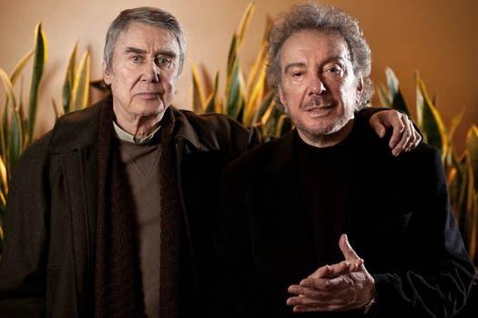 Una de las últimas obras que lo tuvo en su elenco, Filosofía de Vida, junto a Rodolfo Bebán.