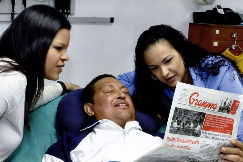 El presidente de Venezuela no aparece en público desde diciembre pasado