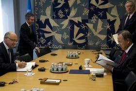 Timerman presentó su denuncia ante Ban Ki-moon en una reunión privada