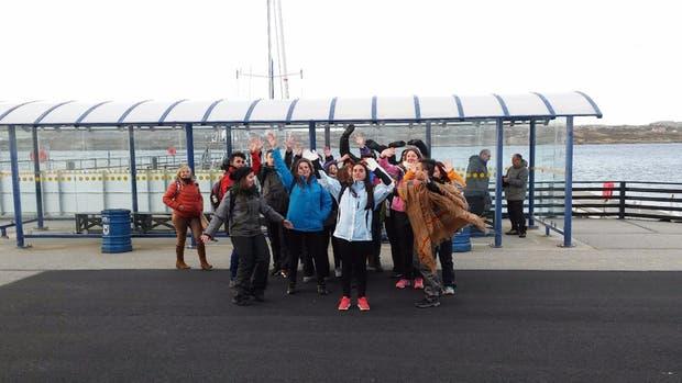 Diecisiete alumnos de 6to a?o del Colegio Don Bosco de Ensenada viajaron a las Islas Malvinas