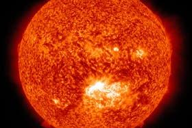 El Sol registró una erupción solar el pasado jueves 12 de julio de 2012