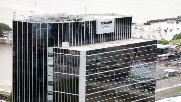El edificio de Telecom en la ciudad de Buenos Aires