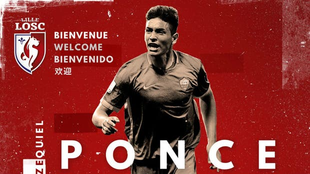 Ponce llegó a Lille