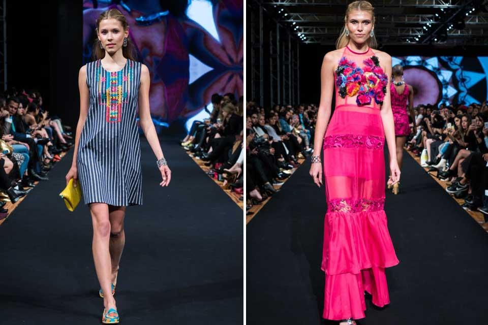 Lydia Ladin es un ejemplo de moda autóctona mexicana en estos días. Buen esfuerzo por hacer de lo nacional, prendas muy usables. Foto: gentileza Prensa