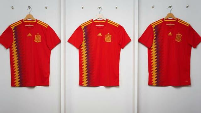 La nueva camiseta de España