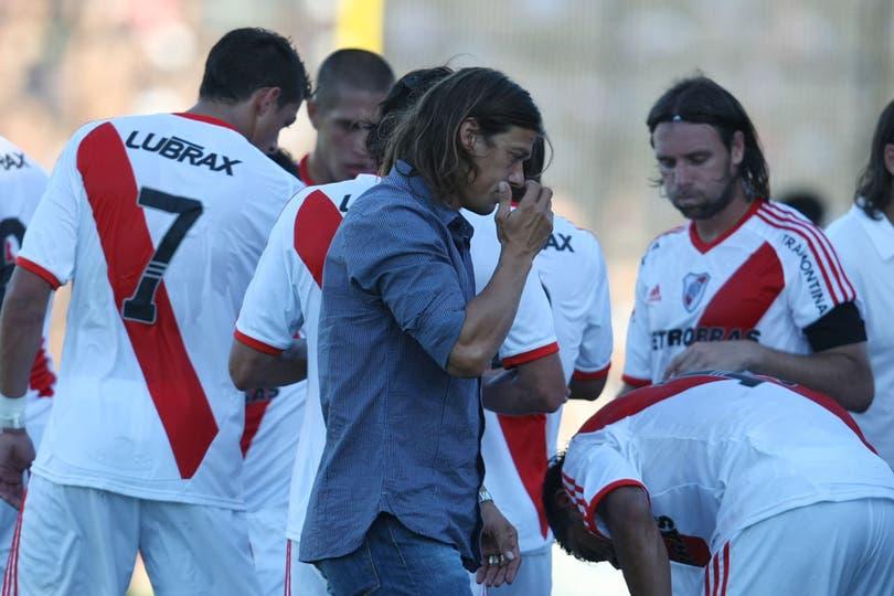 Las mejores fotos del empate 1 a 1 entre Almirante Brown y River. Foto: LA NACION / Mauro Alfieri