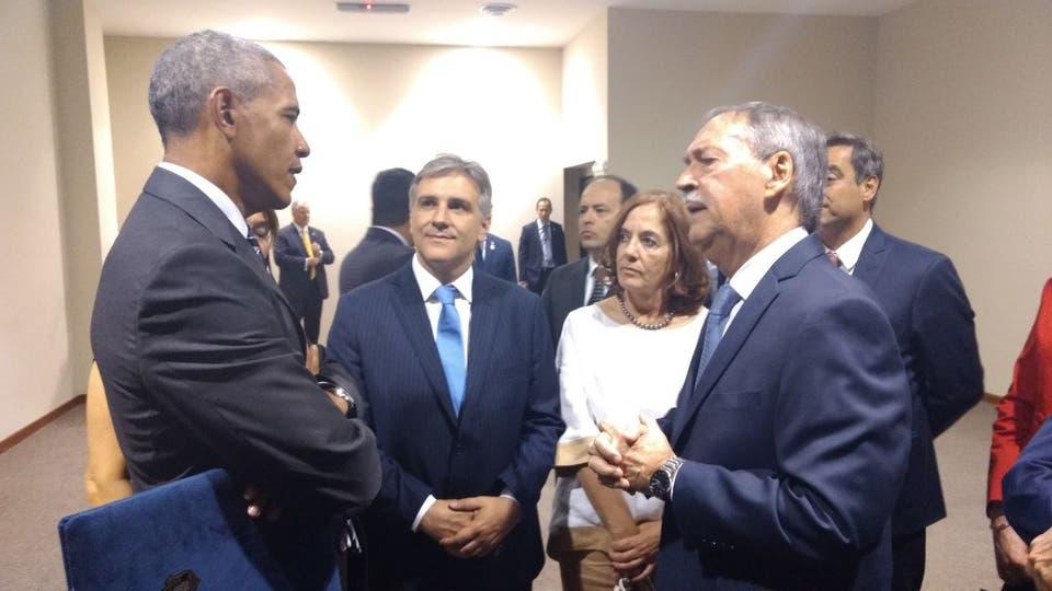 Barack Obama en la Cumbre de Economía Verde en Córdoba.