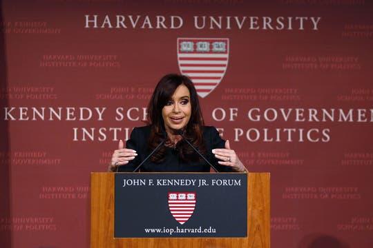 Cristina respondió diez preguntas, en su mayoría punzantes. Foto: Reuters