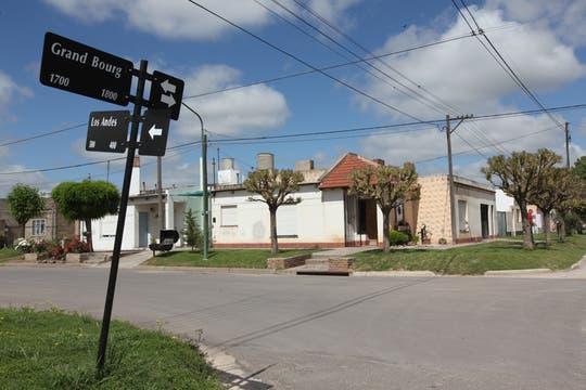 El barrio donde viven Jesús Olivera y Estefanía Heit, en Coronel Suárez. Foto: Enviado especial / Guadalupe Aizaga