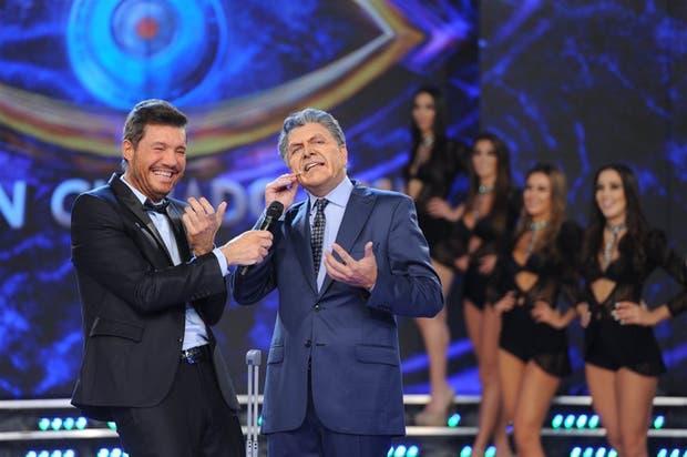 Marcelo Tinelli y el Macri de Fredy Villarreal