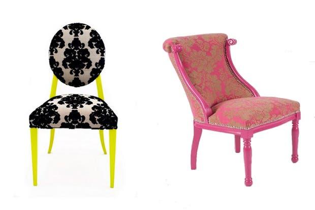 Alto contraste en las sillas de No Pánico..