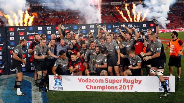 Crusaders campeón del Super Rugby 2017