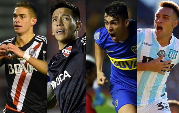 Pavón, Santos Borré, Martínez y Barco, los Sub 23 que esperan dar el salto de calidad