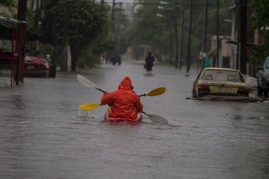 Tigre fue otra de las zonas que tuvo graves inconvenientes con la crecida de los ríos, hubo gran cantidad de evacuados. Foto: LA NACION / Aníbal Greco
