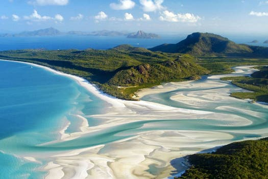 3. Whitehaven Beach, Queensland - Australia.