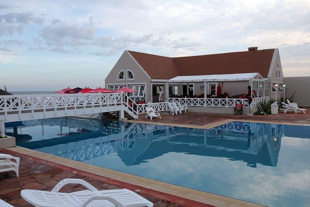 Una vista del balneario CR, en Pinamar