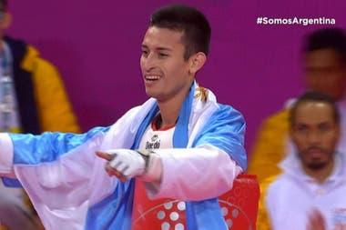 Lucas Guzmán, campeón panamericano.