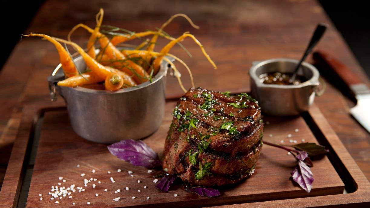 La carne: gran protagonista. Uno de los platos de Elena