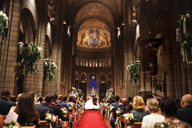 Hacía sesenta y tres años que un Grimaldi no se casaba en la catedral de Mónaco: la última boda fue la de Rainiero y Grace.